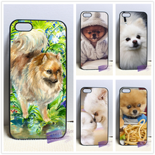 Pomeranian puppy dog 4 fashion cell phone case cover for iphone iphone 4 4s 5 5s 5c SE 6 6s plus 7 plus #LI0684