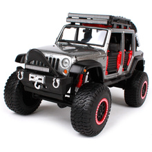 Maisto 1:24 OFF ROAD KINGS 2015 JEEP WRANGLER UNLIMITED Modified Suvs Diecast Model Car Toy New In Box Free Shipping 32523