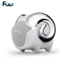 FUU 2016 New Create Magic Ring Wireless Bluetooth Sheep Shape Sound Subwoofer Laptop Phone Mini Portable Small Speakers(China)