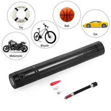 Inflator 110PSI Rechargeable Electric Portable Car Cycling Bicycle Bike Pump Tire Tyre Inflator Auto Air Compressor