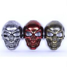 New Skull MASK Tactical Masks Hunting Halloween Motorcycle Outdoor Military Wargame Paintball Protection Full Face Mask