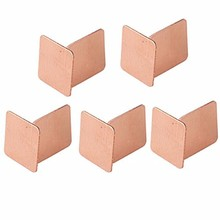 NOYOKERE Hot Selling 10pcs Practical Laptop CPU Processor Cooling Heatsink Copper Shim Thermal Pads 15x15x0.5mm(China)
