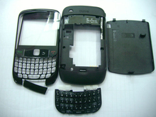 Original Full Housing Cover For Blackberry Curve 8520 Front Frame+Middle Frame+Battery Case 1 piece free shipping