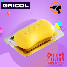 GRICOL Free Shipping Soap Holder/Soap Box/Soap Dish/Soap Case Stainless Steel Modern Bathroom Accessorie Chrome Nail Free(China)