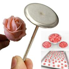 DIY Ice Cream Cake Flower Stand Stainless Steel Nail Decoration Kits Kitchen New Decorating Baking Piping Stands Tools Bakeware