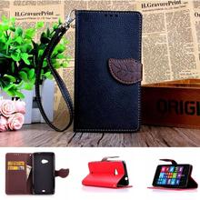 Leather Wallet Phone Case For Microsoft Nokia Lumia 535 1090 1089 N535 Phone Bag Card Holder Flip Cover Stand TPU Back Cover