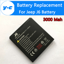 jeep j6 Battery 100% New 3000mAh JBK-001 Li-ion Battery for jeep j6/ NO.1 X1 Waterproof Phone-In Stock+Track Code