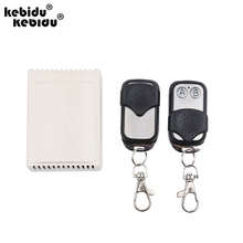 kebidu Wireless Remote Control System teleswitch 2transmitter and 1receiver DC12V 2CH RF universal gate remote control wholesale(China)