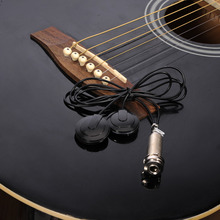 Mandolin Pickups Black Musical Instrument Pickups Transducer for Metal Mandolin Pickups Transducer Support Wholesale