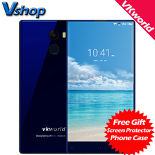 Original Vkworld MIX Plus 4G Mobile Phones Android 7.0 3GB+32GB Quad Core Smartphone 5.5 Inch Full Screen Dual SIM Cell Phone(China)