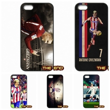 For Samsung Galaxy Note 2 3 4 5 7 S S2 S3 S4 S5 MINI S6 S7 edge Antoine Griezmann France Soccer Star Phone Cases Covers