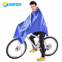 Mountain Bike Raincoat Bicycle Riding Poncho Women And Men Soft Light Weight Bicycle Raincoat ZZA001(China)