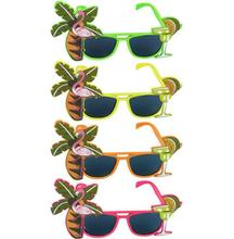 Hawaiian Glasses Tropical Hula Beach beer Party Sunglasses Pineapple Flamingo Goggles Hen Night Stage Fancy Dress eyewear gift