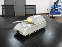 2017 new GERMANY MAUS SUPER HEAVY TANK RC TANK WITH METAL SHELL HOOBEN TANK FMS TANK(China)