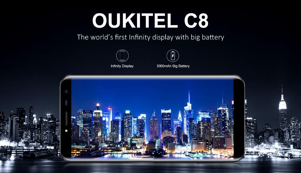 oukitel c8 Smartphone (1)