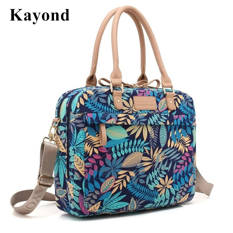 Newest Kayond Brand Forest Ladies Handbag Laptop Bag 15,15.6 inch,Case For Macbook 15.4, Notebook Messenger Bag, Free ShipMB18<br><br>Aliexpress