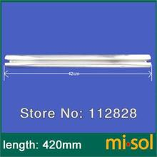 10 pcs of aluminum fins for glass tubes (58mm*500mm), for solar water heater