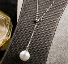 100% 925 sterling silver necklaces & pendants Ball & Dot r necklace for women top quality!! Christmas Gift FREE SHIPPING