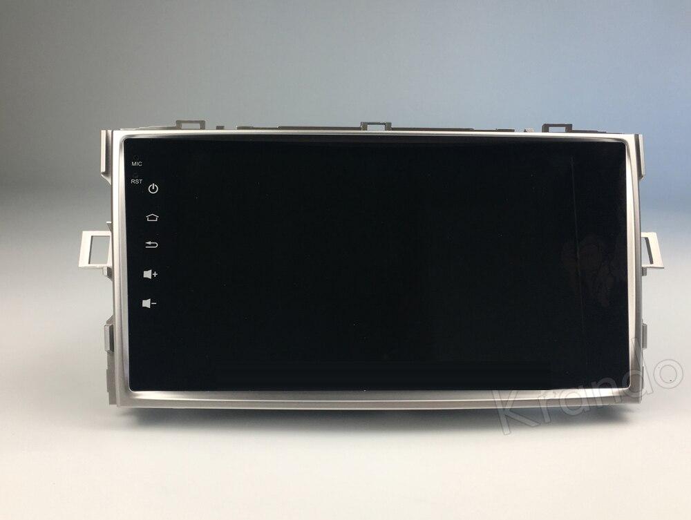 Krando TOYOTA EZ verso Android car radio gps navigation multimedia system (4)
