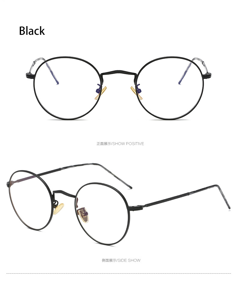 b284eb223b7 2019 Simvey New Blue Light Blocking Glasses Classic Retro Round ...