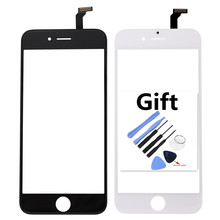 Touch Screen Digitizer Front Touch Panel Display Glass Lens TouchScreenfor iphone 6 plus 6plus with Gift Tools Phone Accessories