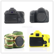 Nice Soft Silicone Rubber Camera Protective Body Cover Case Skin Camera case bag Lens bag  for Canon 80D