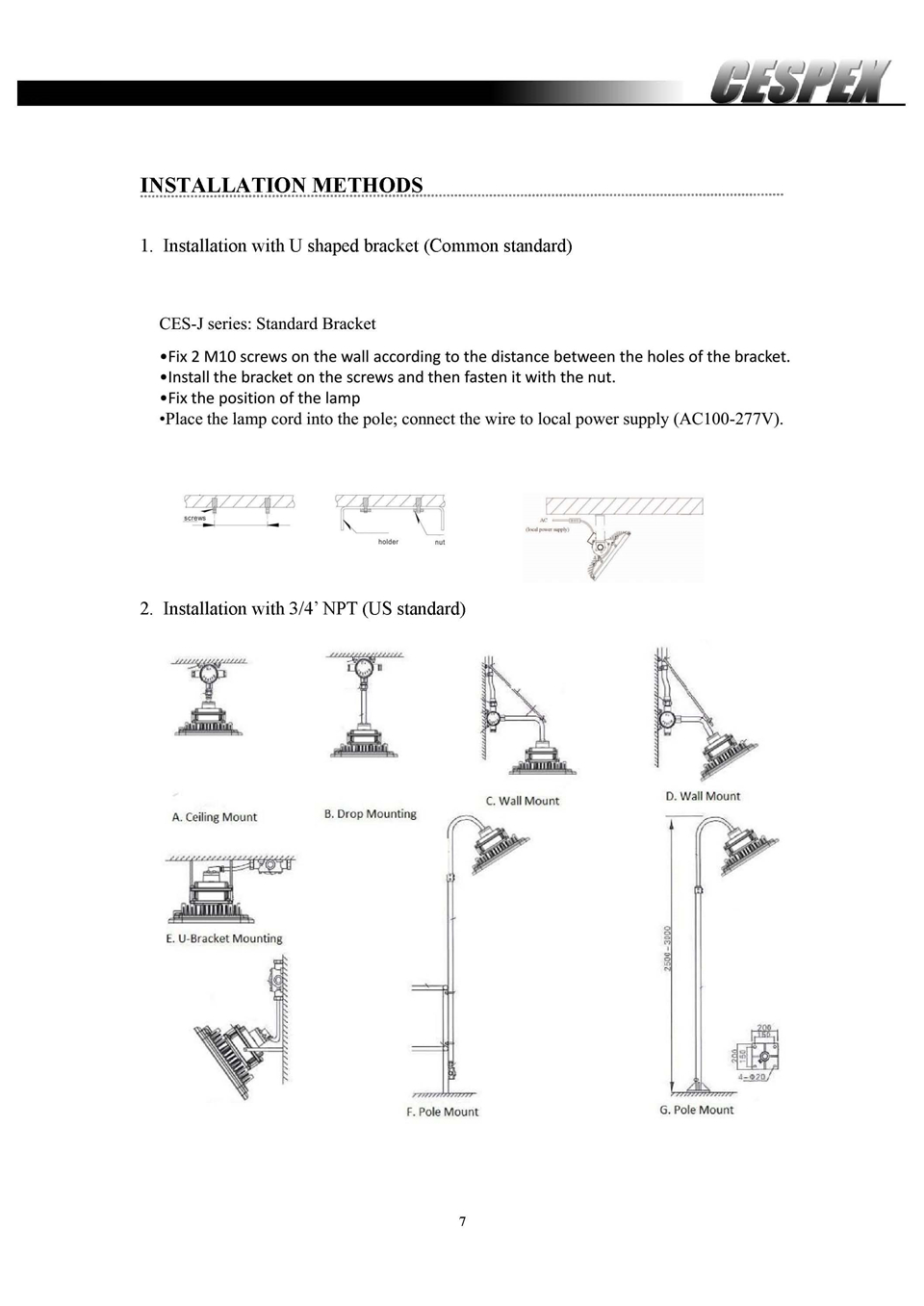 Datasheet of ATEX UL LED explosion proof lights__7