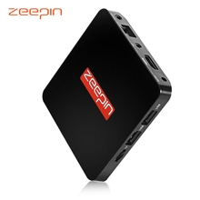 ZEEPIN TV Box RAM 1G ROM 8G 2.4G WiFi Online Media Player Amlogic S905X 1.51GHz,Quad Core Android 6.0 Support 3D Games/3D Video
