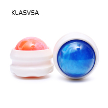 KLASVSA Body Massage Roller Ball Neck Back Leg Arm Promote Blood Circulation Yoga Therapy Relax Pain Relief Health Care(China)