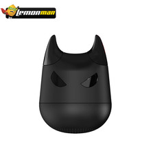 LemonMan Mini Wireless Bluetooth Speaker Devil Stereo Music Player Great Bass Handsfree Call & Remoter Camera for iPhone Android(China)
