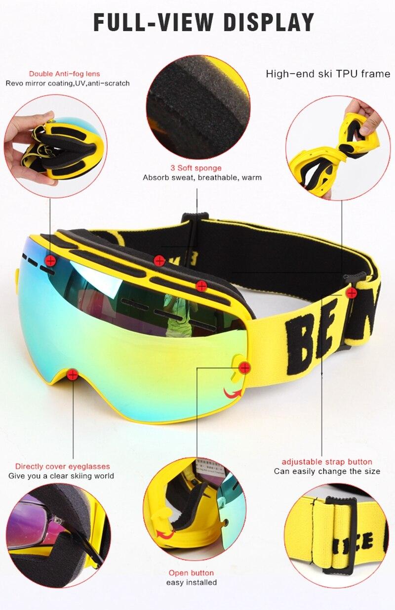 gafas esqui