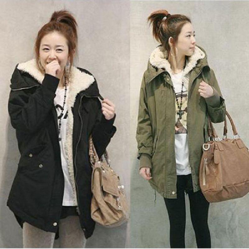 Hot Sale Fashion Women Overcoat Jacket Coat Female Slim Zipper Hooded Parka Fleece Thick Long Style Tail Swallow Warm Coat KS054Одежда и ак�е��уары<br><br><br>Aliexpress
