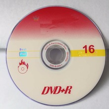 Wholesale 10 discs A+ Fire Series 16x 4.7 GB Blank Pink Printed DVD+R(China)