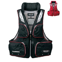 2017 New Shimano fishing vest Good Quality Famous Brand Professional life vest VF-152G Multi-pocket floating vest(China)