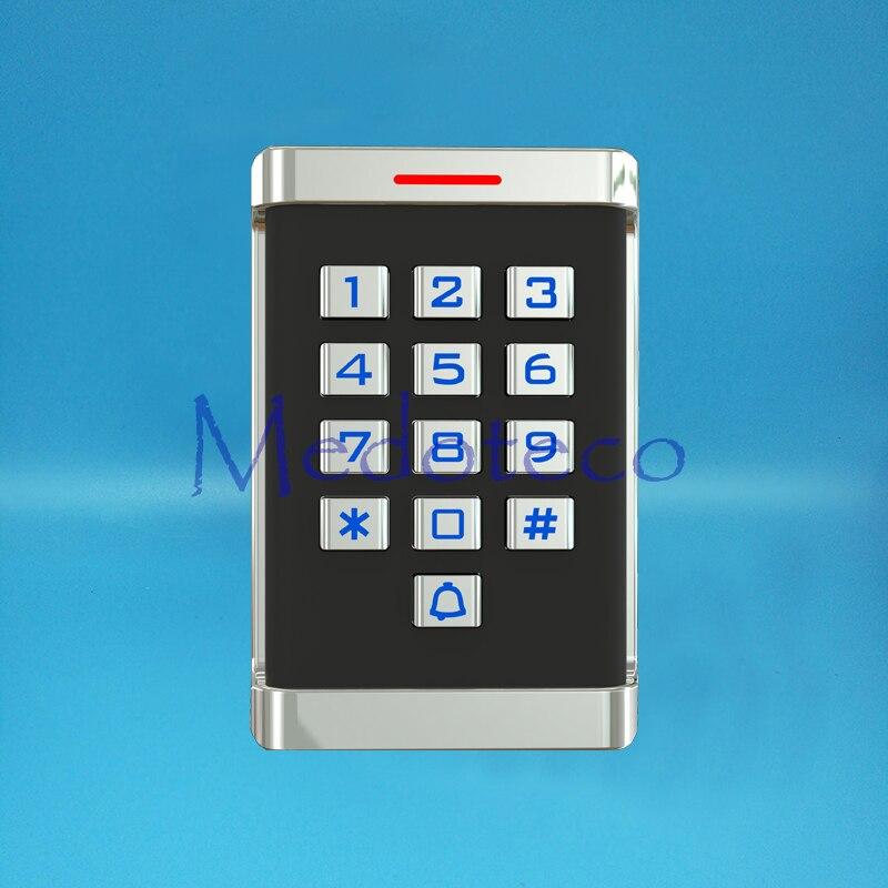 IP68 Waterproof Metal Keypad Proximity Card Door Access Control System Metal Access Control Door Opener Real Metal keypad<br>