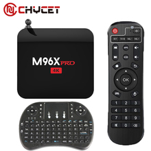 Chycet M96X Pro Best Buy Android 6.0 Smart TV Box S905X Quad-core 2G/16G WIFI 4K 1080P Media Player Smart TV PK X96 + Keyboard