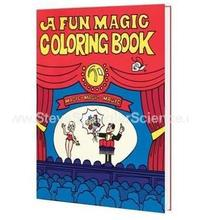 A Fun Magic Coloring Book - small size - magic tricks,best for children,stage magic,mentalism,illusions