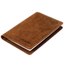 Buy GUBINTU Travel Passport Cover Genuine Leather Passport Holder Rfid Vintage Wallet Document Cover Organizer --BIH043 PM49 for $8.97 in AliExpress store