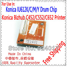 Image For Konica Minolta C452 Chip,Drum Chip For Konica Minolta Bizhub C452 C552 C652 Copier,For Konika IU612 IU-612 Drum Chip