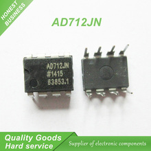 5PCS AD712JN AD712 AD712JNZ DIP-8 Precision Amplifiers PREC HIGH Spd DUAL BIFET new original(China)