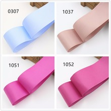 1692615 , 38mm Solid Color Grosgrain Ribbon 10 yards , DIY handmade clothing accessories , Jewelry & Accessories(China)