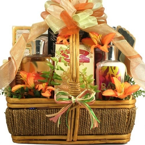 Gift Basket Drop Shipping ThIs The Islander Tropical Spa and Gourmet Gift Basket