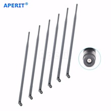 Aperit 6 x 9dBi 2.4GHz 5GHz Dual Band WiFi RP-SMA Antennas for Asus RT-AC68P RT-AC3200