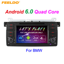"7"" Android 6.0 (64bit) DDR3 2G/16G/4G LTE Quad Core Car DVD GPS Radio Head Unit For BMW 3 Series E46/M3/MG ZT/Rover 75"