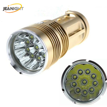 LED Flashlight 20000 lumens light King 3/6/9/12 T6 LED flashlamp CREE XM-L T6 Torch Lamp Light For Hunting Camping(China)