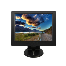 12.1 inch Resistive Touch Screen LCD POS Monitor 12 inch Square Four-wire Touch Screen Monitor with DVI interface