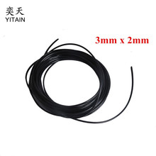 10 meters/lot 3*2mm UV ink tube for small damper for DX4 printhead,Roland,Mimaki,Mutoh solvent printer(China)