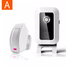 Welcome Chime Wireless Device PIR Motion Sensor Bell Alarm Entry Wireless Door Alarm