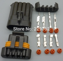 Free Shipping 10kit 4PIN D580 LS1 LS6 Auto Ignition Coil Pack CoilPack Connector Case  sensor Plug For Camaro Corvette Trans Am