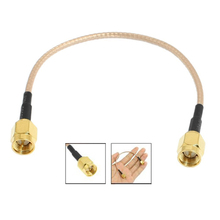 6.5inch Length SMA Male to SMA Male Connector Pigtail Cable --M25